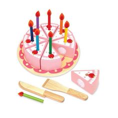 Im Toy-Kids Wooden Toys- Party Cake Set