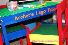 It's Like Music: DIY Lego Table!