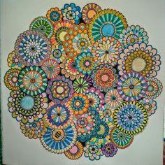 Secret Garden Mandala