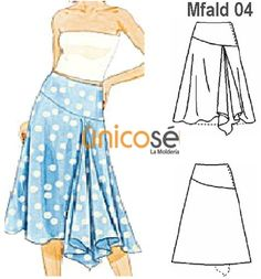 Amazing Sewing Patterns Clone Your Clothes Ideas. Enchanting Sewing Patterns Clone Your Clothes Ideas. Sewing Clothes, Diy Clothes, Clothes For Women, Skirt Patterns Sewing, Clothing Patterns, Fashion Design Classes, Flamenco Skirt, Tango Dress, Make Your Own Clothes