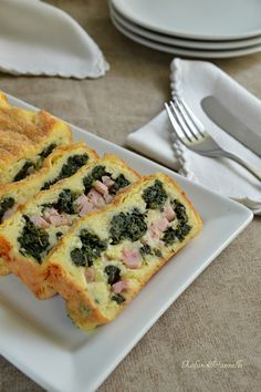 sformato di patate Quiche, Focaccia Pizza, Flan, Brunch, Empanadas, Panna Cotta, Potato Dishes, Savoury Cake, Antipasto