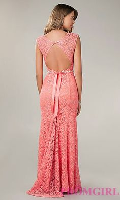 2ce0e69648 Loving this back detail. Simple pretty. Coral Lace Dresses