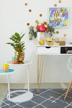 eclectic + fun office space