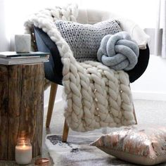 Copper lid mason jars available through along with other incredible items, and these super cool knot cushions. I'll take one in every shade thanks! Kmart Home, Knot Cushion, Mason Jar Candles, Merino Wool Blanket, Decorative Items, Kids Bedroom, Family Room, Cushions, The Incredibles