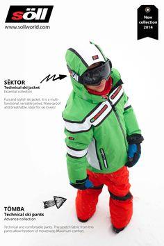 Lookbook #2 #happycolorskiwear from Söll