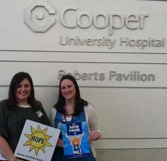 Cooper University Hospital, Camden, NJ & The SUPERPOWER of ME!