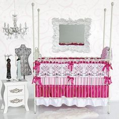 Caden Lane Luxe Collection Sophia Crib Bedding Set by Caden Lane, http://www.amazon.com/dp/B005I5W7PS/ref=cm_sw_r_pi_dp_0-m9qb12X44KD