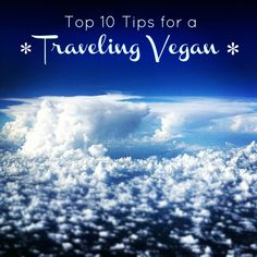 Vegan Travel Tips by Namely Marly #travel #vacations