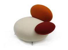 SUPERSASSI Fabric Armchair By Rossi Di Albizzate Design Matteo Thun