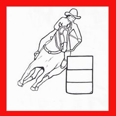 FREE PRINTABLE RODEO COLORING PAGES  BY DANCING COWGIRL DESIGN If you love to color and like the sport of rodeo, I have a treat for you. I have been working on my own original color pages with pictures of...