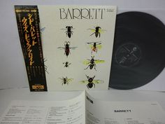 Pink Floyd Syd Barrett Barrett LP Japan Toshiba EMI Op 80173 w 2200yen OBI | Click the image to join the Laughing Madcaps Syd Barrett Group, now on FacebooK! The original! Around since 1998! The world's best Syd Barrett & early Pink Floyd fan group!
