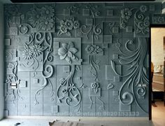 3d Wall Decor, 3d Wall Murals, Mural Art, Natural Stone Cladding, Stone Wall Design, Drawing Room Design, Plaster Art, Buddha Painting, Art Deco Furniture