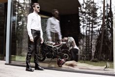 Kalup X Trousers Guys, Trousers, Motorcycle, People, Templates, Women, Trouser Pants, Pants, Motorcycles