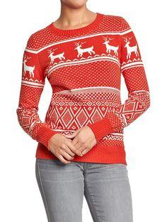 Women's Fair Isle Sweaters Product Image
