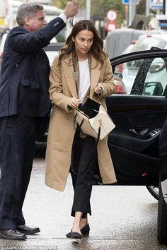 Alicia Vikander Madrid February 27 2018 | Star Style
