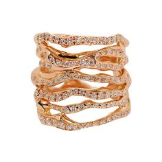 CORTECCIA 6 FILI RING - Rings - Collections - LUCIFER