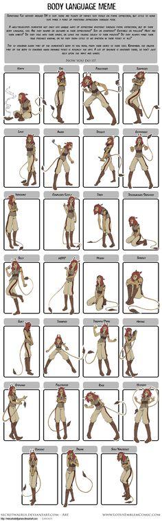 Rowen Pose Expressions by SecretWalrus.deviantart.com