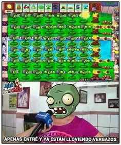 Video Games Funny, Funny Games, Gavin Memes, Fusion Card, Castle Crashers, Funny Spanish Memes, Plants Vs Zombies, Pokemon, Stupid Memes