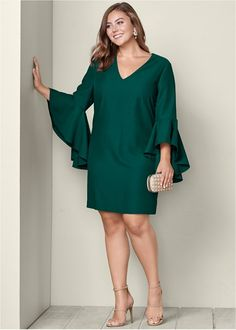 Plus Size Women S Dressy Dresses Casual Party Dresses, Dressy Dresses, Plus Size Maxi Dresses, Simple Dresses, Plus Size Outfits, Dresses With Sleeves, Wrap Dresses, Dress Casual, Summer Dresses