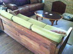 DIY Couch. Misleading. Just cushion refurbishment