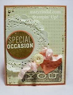 Girlie Cards - Dude You're Welcome {scrap and stamp with mary}: Stampin' Addicts Hidden Treasures Blog Hop
