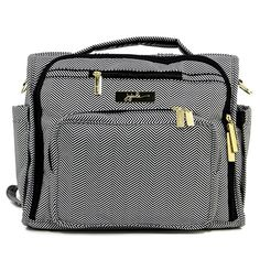 The B.F.F Diaper Bag by Ju-Ju-Be will quickly become your best friend. This ultra-stylish bag is also designed for maximum efficiency, keeping necessities close at hand and neatly organized. It is a perfect accessory for busy parents.