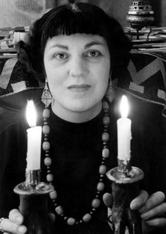 Doreen Valiente One of the founding women of modern day Wicca.  Photo taken circa 1950s.