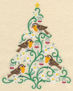 O Christmas Tweet - European Robins-11/9/15