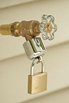 Outdoor Spigot Lock