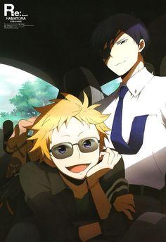 Ratio and Birthday from Hamatora | Anime Boys