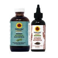 Shop for Tropic Isle Living Jamaican Black Castor Oil Set. Get free delivery On EVERYTHING* Overstock - Your Online Beauty Products Shop! Henna For Hair Growth, Henna Hair, Hair Growth Oil, Scalp Problems, Jamaican Black Castor Oil, Hair Thickening, Healing Oils, Moisturizing Shampoo, Hair Breakage