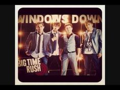 Big Time Rush - Windows Down. My new summer anthem, I LOVE driving with my windows down.