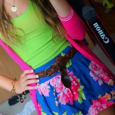 Bright Hollister outfit