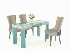 Granada table has been designed with bright Spanish south in mind. It is decorated with antique mirror panels and has the look of old furniture. The design on the table top is simple yet very stylish. It's a fantastic mirrored table which will add elegance to any home.