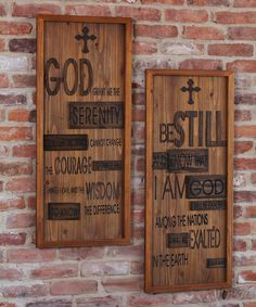 Look at this Inspirational Wood Wall Art Set on #zulily today!