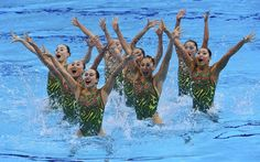 Synchronized Swimming: Team Free Final - Synch. Swimming Slideshows   NBC Olympics