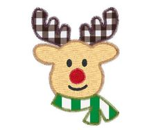 Vintage style applique & embroidery design by TheClassicApplique Rudolph Christmas, Applique Embroidery Designs, Christmas Fashion, Reindeer, Etsy Seller, Vintage Fashion, Creative, Unique, Style
