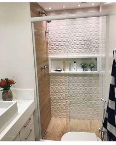 171 inspiring master bathroom remodel ideas - page 28 Compact Bathroom, Small Bathroom, Master Bathroom, Kitchen Sink Design, Farmhouse Sink Kitchen, Wood Bathroom, Bathroom Interior, Mini Bad, Toilette Design