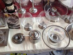 Sliver and glass table wear ( sister to my china set # perfect, must buy!!)