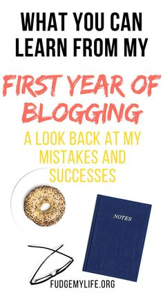 Blogging for beginners: take a look at all the mistakes and successes of my first year of blogging after starting a blog. A month by month blogging guide through my first year for blogging as a beginner blogger with no blogging experience. Find out what you can learn from my first year of blogger: a look back at my successes & mistakes. Take a look at this blog income report of my first year. #blogincomereport #bloggingforbeginners #startablog
