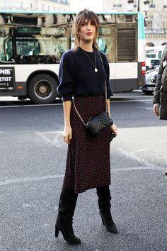 Was sie trugen: Paris Fashion Week - Jeanne Damas - Retro Fashion Week 2018, Fashion Mode, Paris Fashion, Girl Fashion, Fashion Outfits, Womens Fashion, Fashion Trends, Street Fashion, Fashion Ideas