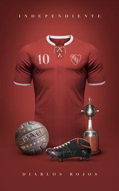 CA Independiente - Vintage clubs on @behance