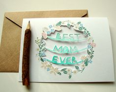 Cute Mothers Day card http://www.letko.info/archives/25.html