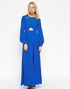 ASOS Kaftan with Keyhole Maxi Dress