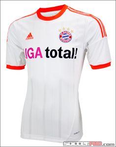 adidas Bayern Munich Away Jersey 2012-2013...$76.49