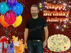 September 14, 1973   Happy Birthday, Andrew Lincoln   Andrew plays Rick Grimes on The Walking Dead (AMC)