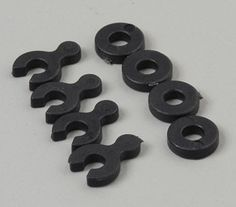 Caster Spacers w/Shims (4)