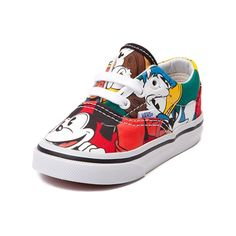 Great shoes for Maveric!  Mikey mouse Vans.