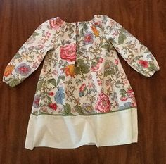 Vintage Floral Peasant Dress $30.00