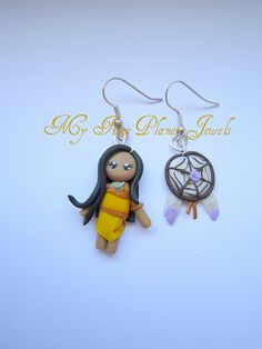 Pocahontas earrings2011 | Flickr - Photo Sharing!